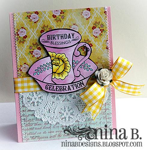 Teacup Birthday blessings