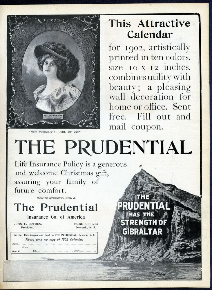 PRUDENTIAL INSURANCE COMPANY OF AMERICA PRUDENTIAL GIRL OF ...