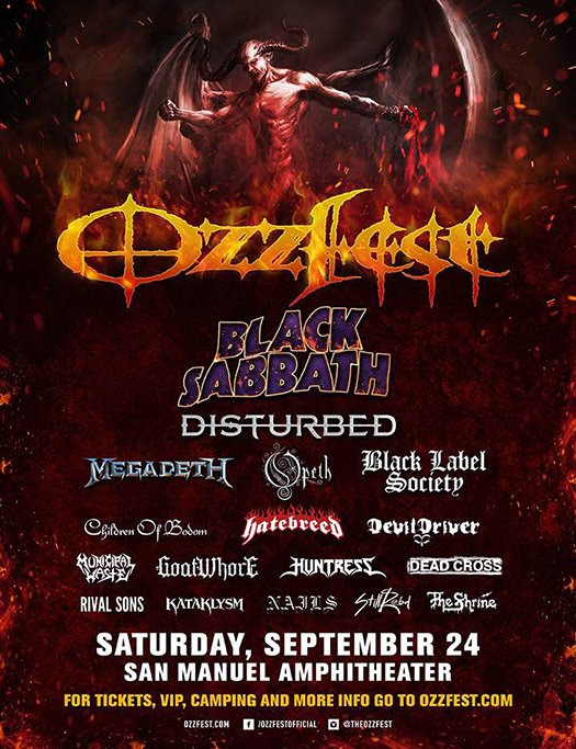 Black Sabbath On Ozzfest 20th Anniversary Show | The Official Ozzy Osbourne Site