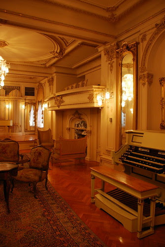 Hancock Memorial Museum, Music Salon