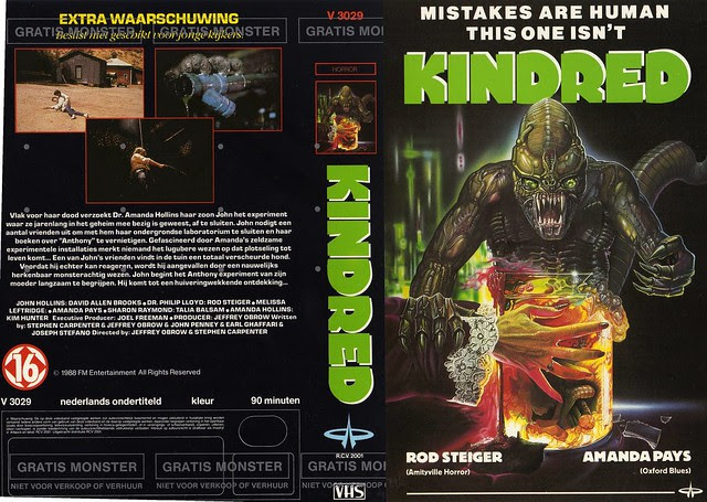 Kindred 1 (VHS Box Art)
