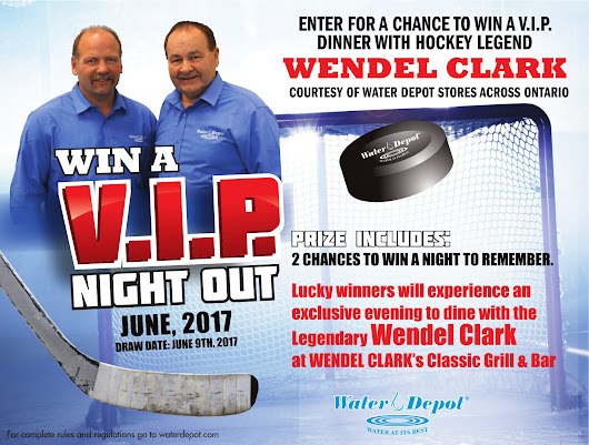 Dine with the Legendary Wendel Clark