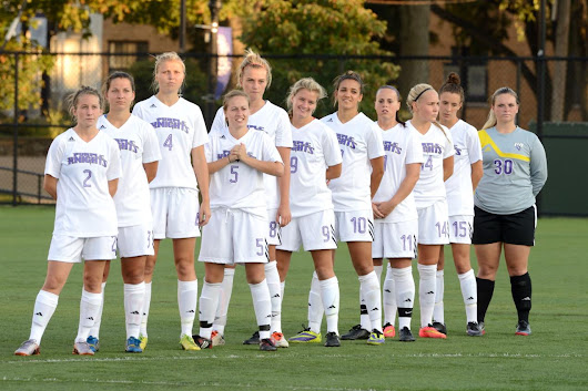 Three Purple Knights Receive 2014 NSCAA All-East Region Honors For Women's Soccer -  Bridgeport