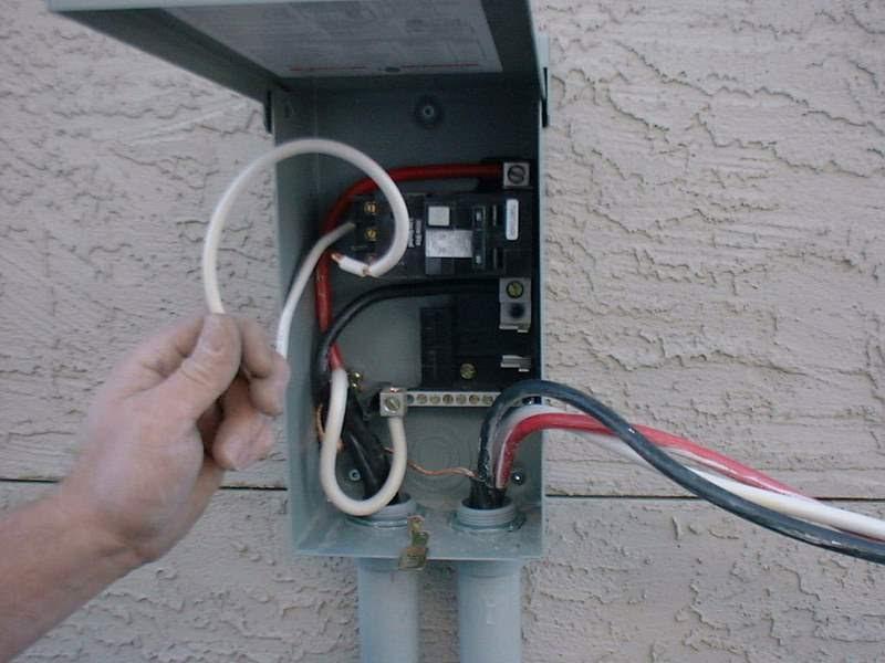 Hot Tub Wiring Code