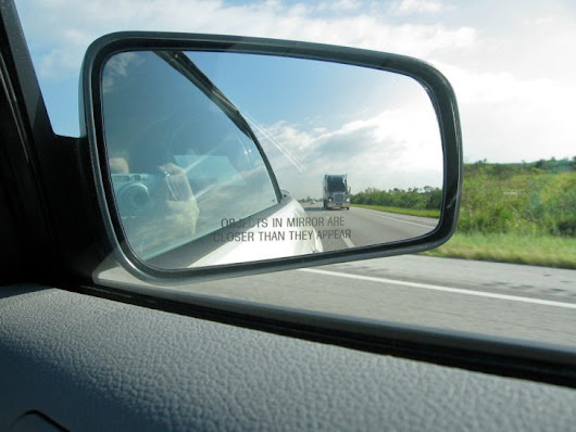 Seeing into Blind Spots: Clever Trick to Properly Align a Car's Side-View Mirrors - 99% Invisible
