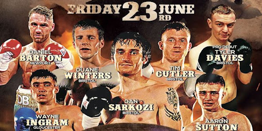 "Sanigar Events Announce June 23 ""Young Guns"" Fight Card - Boxing News"