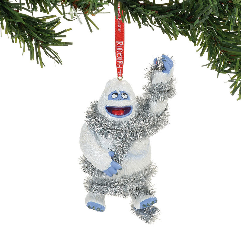 Bumble In Tinsel Ornament Enesco Gift Shop
