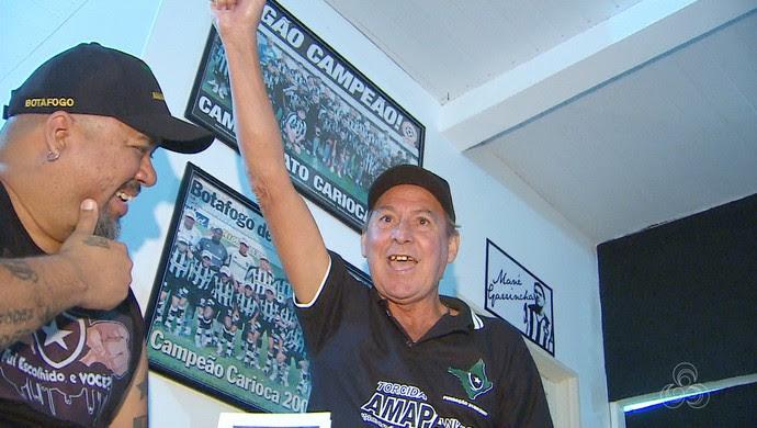 Mendonça, Botafogo, ex-jogador, Amapá (Foto: Reprodução/Rede Amazônica no Amapá)
