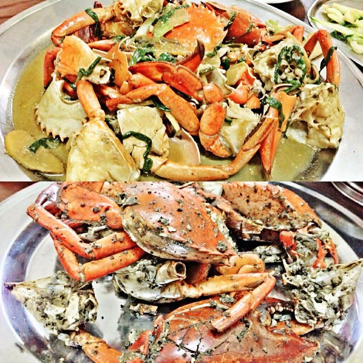 seafood crab malacca