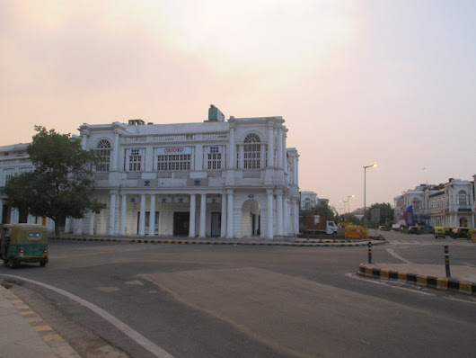 Morning Walk to Connaught Place