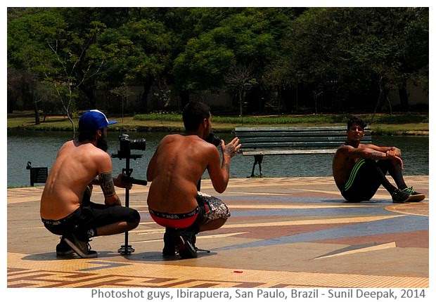 Photographers Showing underwear, San Paulo, Brazil - Images by Sunil Deepak, 2014