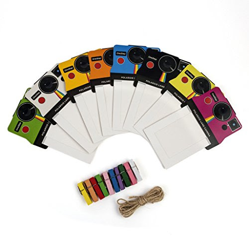 Polaroid Colorful Vintage Photo Frames For 23 Zink Paper Snap Zip