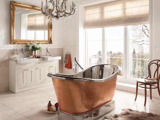 5 Ways to Incorporate Glamorous Copper into your Bathroom