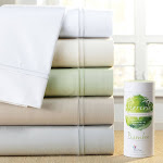 PureCare Elements Terrene Bamboo & Cotton 400T Sateen Sheet Set Silver Gray - Cal King Silver Gray Solid