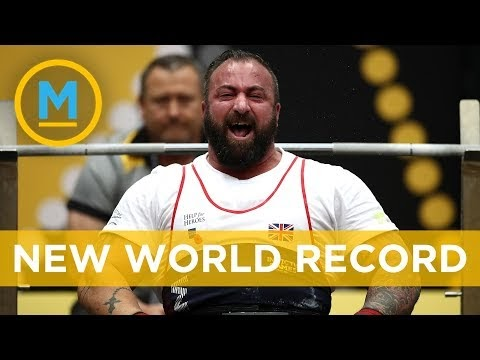 This veteran set the Guinness World Record for heaviest