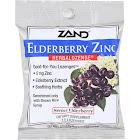 Zand Herbalozenge Lozenges, Elderberry Zinc, Black Elderberry Flavor - 15 lozenges