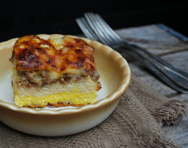 Biscuit and egg casserole