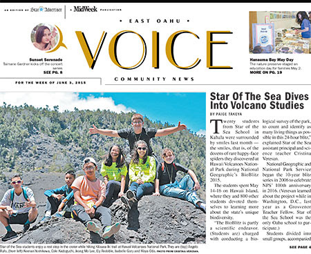 Star Of The Sea Dives Into Volcano Studies - MidWeek