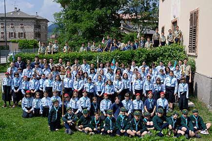 gruppo di scout