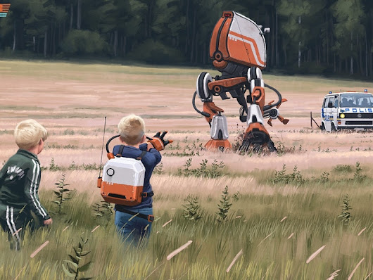 Simon Stålenhag's Tales from the Loop by Free League Publishing — Kickstarter