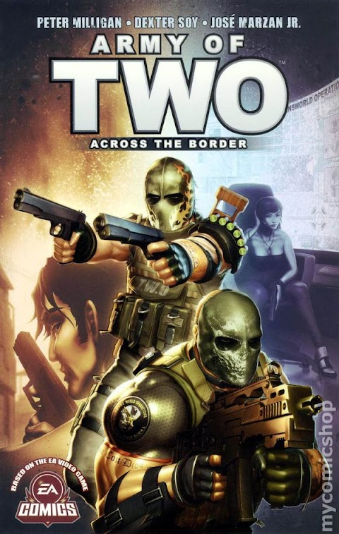 Army Of Two Comic Book