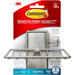 Command Soap Dish Brushed Nickel Paper