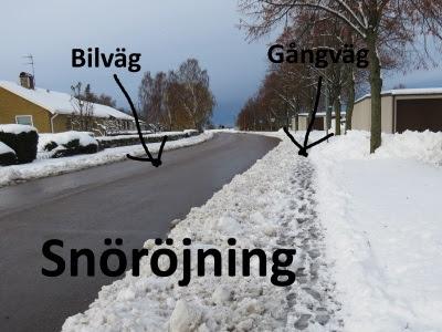Svensk snöröjning