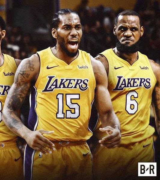 Could Kawhi Leonard join forces with LeBron James on the L.A. Lakers as soon as February, 2019? We'll see. Guess who I cropped out of this pic...