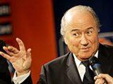 Sepp Blatter: Bar fly