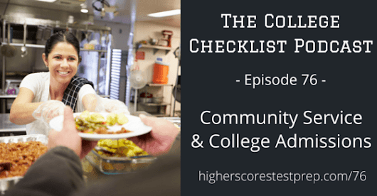 Community Service and College Admissions