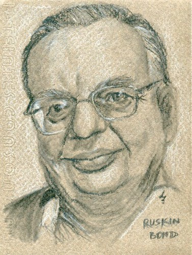 Ruskin Bond by teshionx