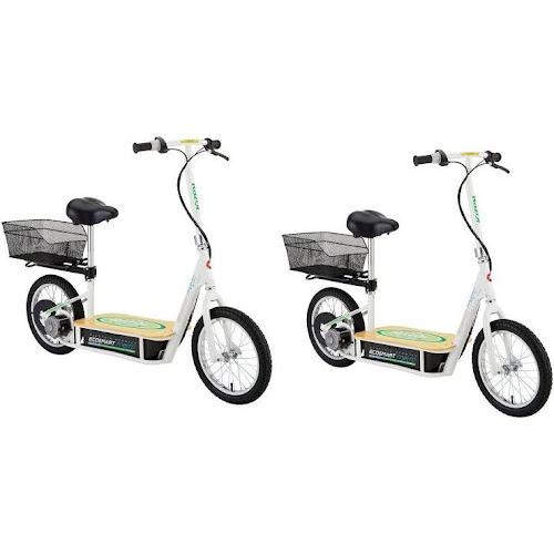 Razor EcoSmart Metro Electric Scooter, Green (2 Pack)