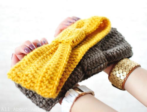 Cómo hacer una diadema de crochet - hamoraima