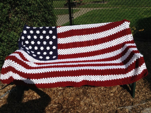 All american afghan by Claudiaswindow on Etsy