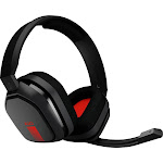 Astro Gaming - A10 Wired Stereo Gaming Headset for PC, Xbox One, PS4 and Nintendo Switch - Black/Red