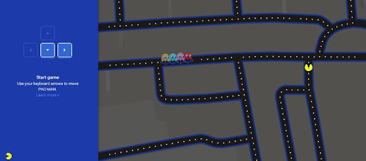 Play Pacman on the streets of London with Google Maps - no, seriously!