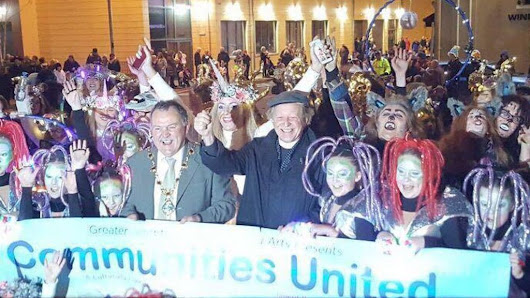 Thousands in Derry for Halloween party