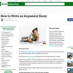 how to write an argumentative essay newsela answers
