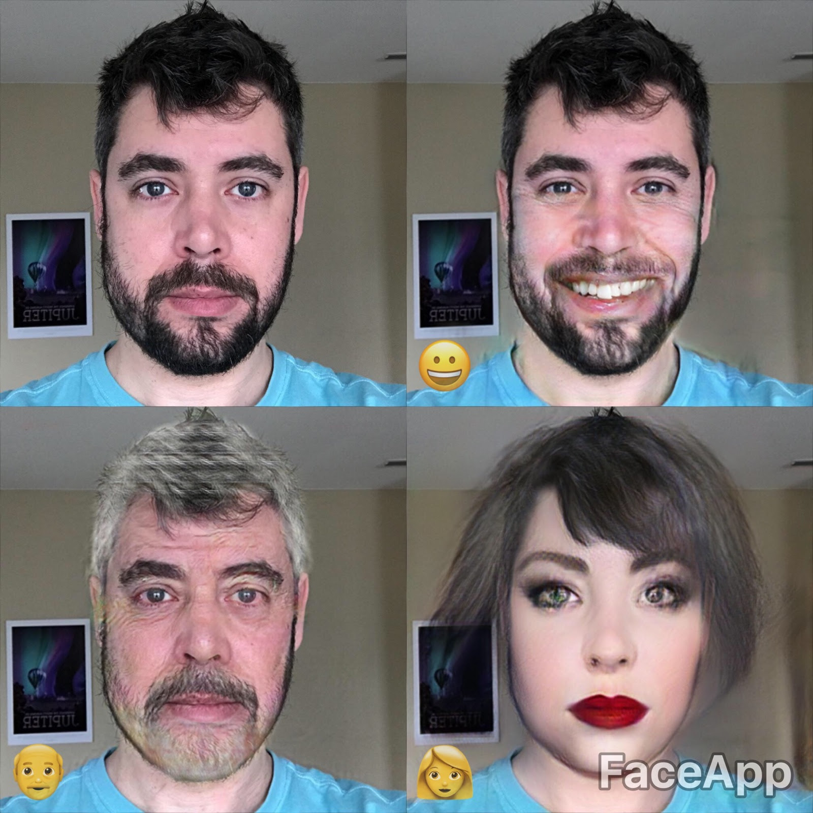 FaceApp uses neural networks to change your look, now ...