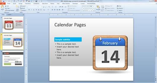 Fiorella Vari Castro Google – Sample Power Point Calendar
