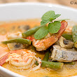 Tom Yum Seafood Soup with Coconut Milk (Tom Kha Talay)