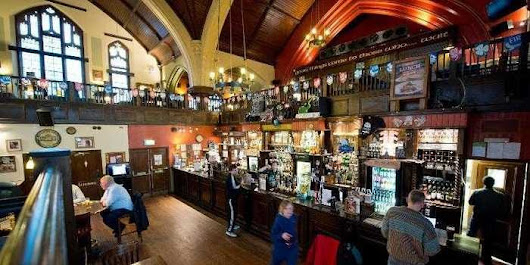 Churches In England Are Being Converted To Bars [PHOTOS]