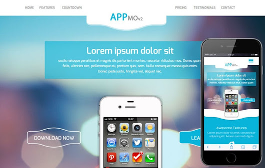 Appmo V2 a Mobile App based Flat Bootstrap Responsive Web Template by W3layouts