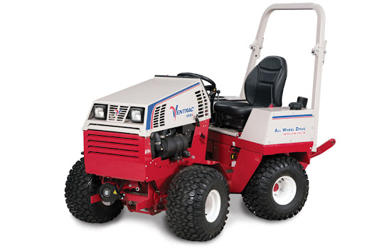 Ventrac Tractor w/ Attachments (Blower, Mower, Sweeper) | Equipment Rentals in Plymouth | Shaughnessy Rentals