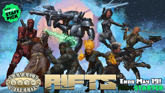Rifts® for Savage Worlds