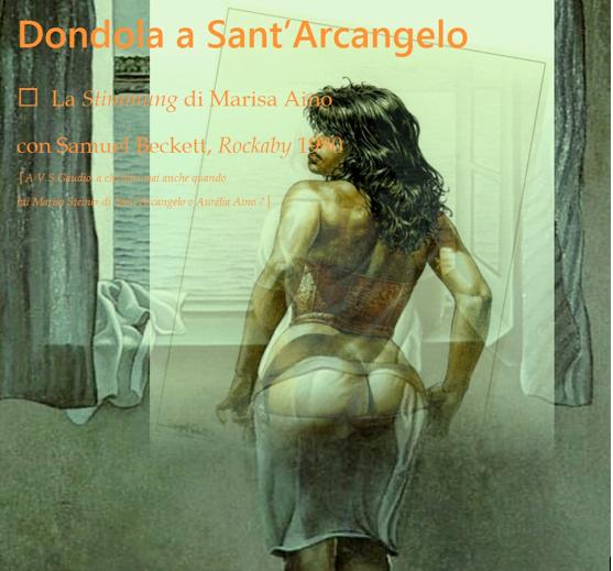 "Marisa Aino▐ La Stimmung con Samuel Beckett│ ""Rockaby"""