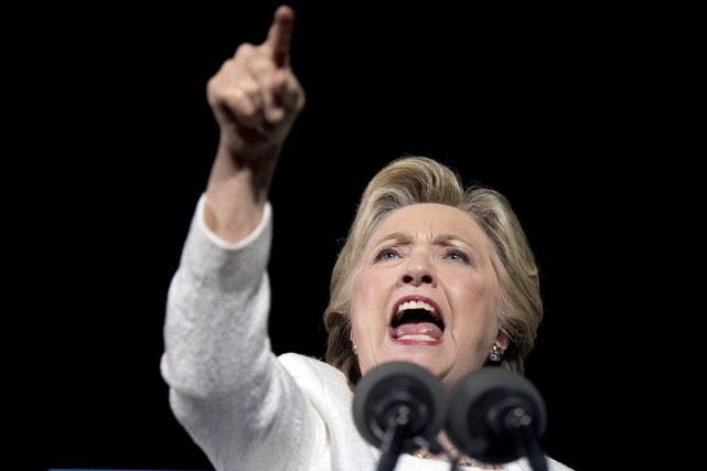 La voix éraillée, la démocrate de 69 ans... (AP)