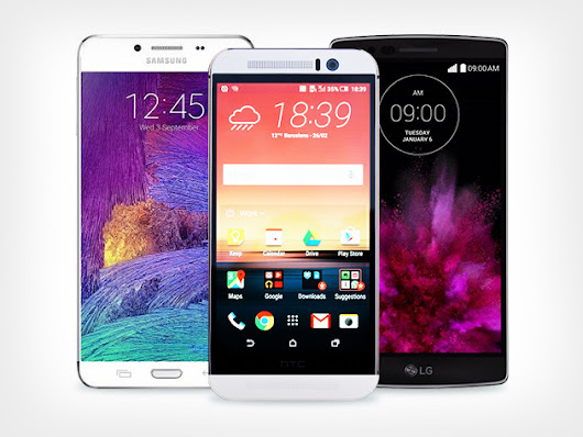 Galaxy S6 vs. LG G Flex 2 vs. HTC One M9....Fate Rests In Your Hands