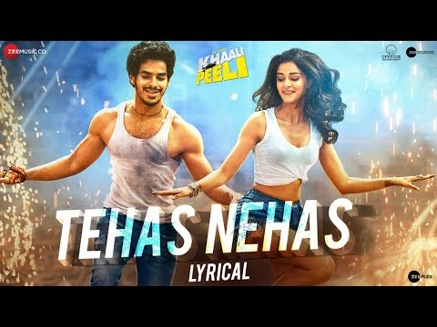 Tehas Nehas - Lyrical | Khaali Peeli | Ishaan & Ananya | Vishal & Shekhar | Prakriti ,Kumaar