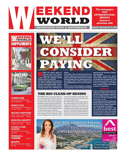 WEEKEND WORLD NEWSPAPER